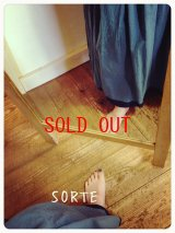 SORTE(ソルテ) コットンローンハンドワッシャーレイヤードスカート