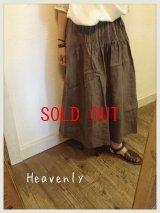 heavenly(ヘブンリー) リネンプリーツスカート